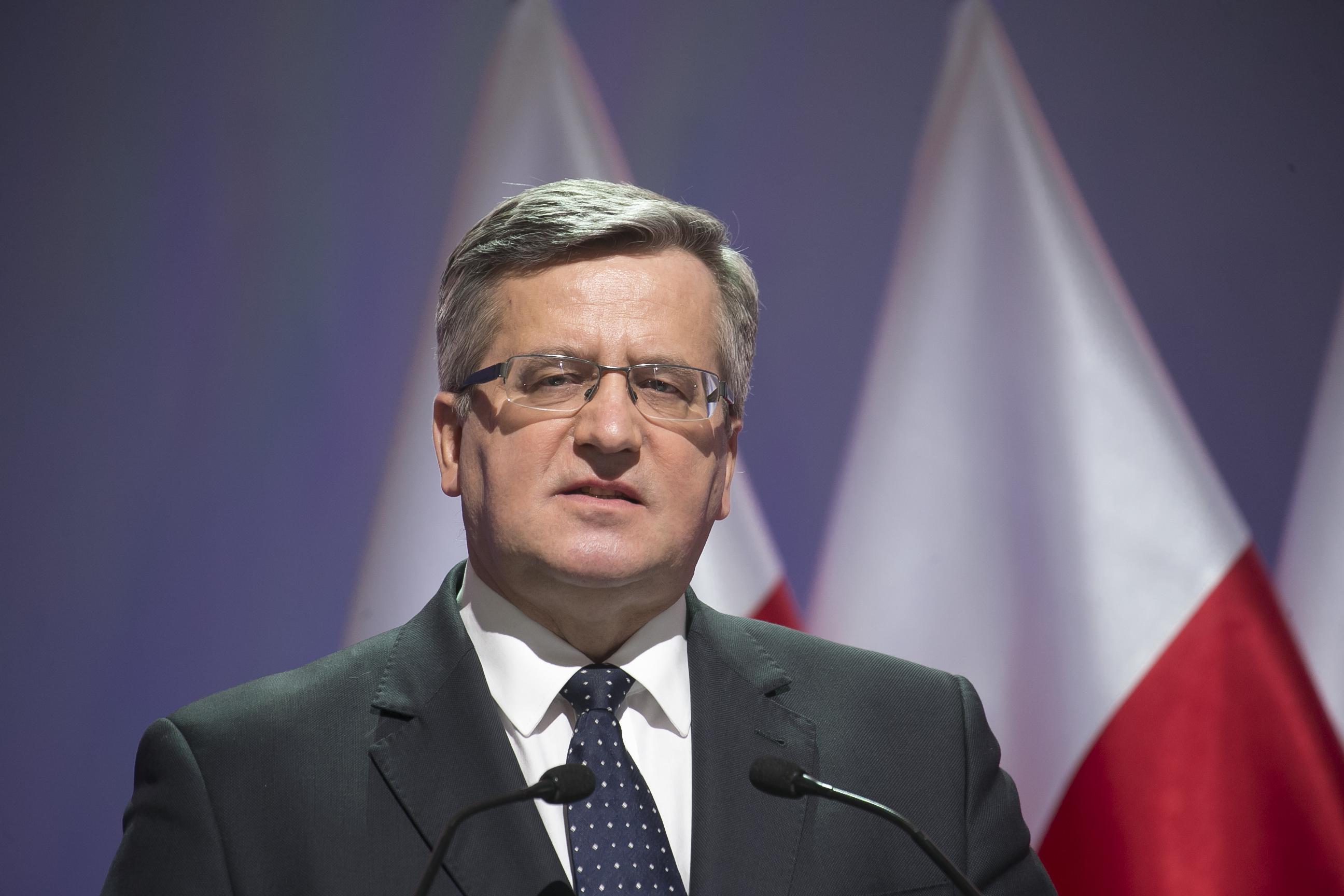 Komorowski ogłosił swoją decyzję w sprawie wyborów prezydenckich!