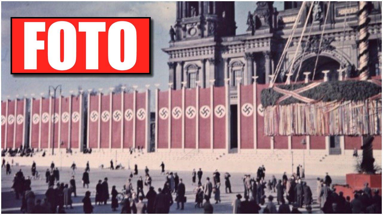 Unikalne zdjęcia Berlina u szczytu POTĘGI III Rzeszy. Musisz je zobaczyć!