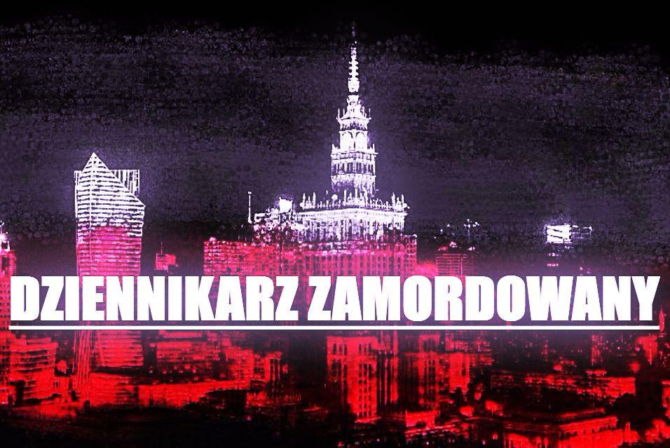 Dziennikarz brutalnie zamordowany w centrum Warszawy