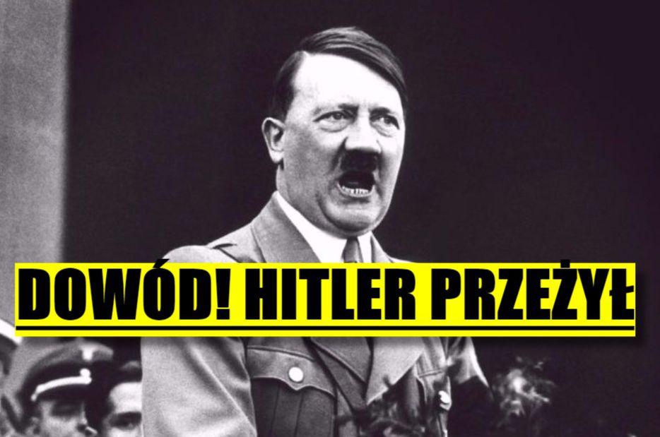 Hitler jednak PRZEŻYŁ wojnę? Szokujące informacje CIA