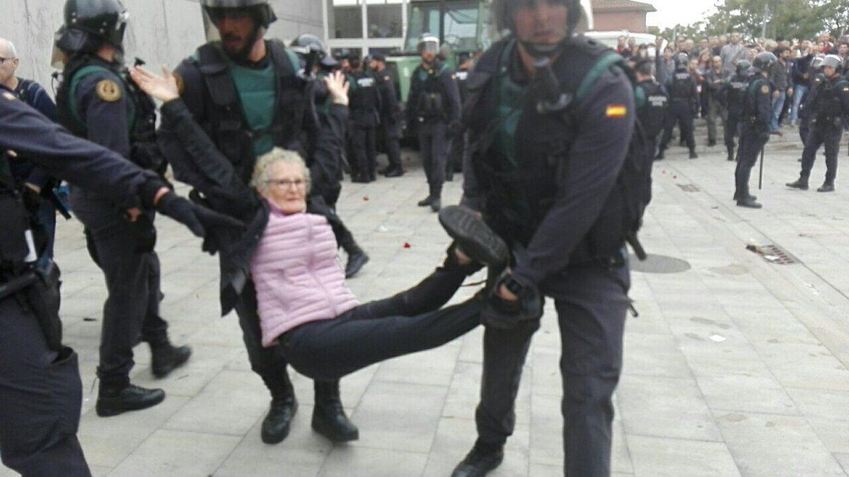 Referendum w Katalonii wymknęło się spod kontroli! Hiszpania o krok od wojny domowej