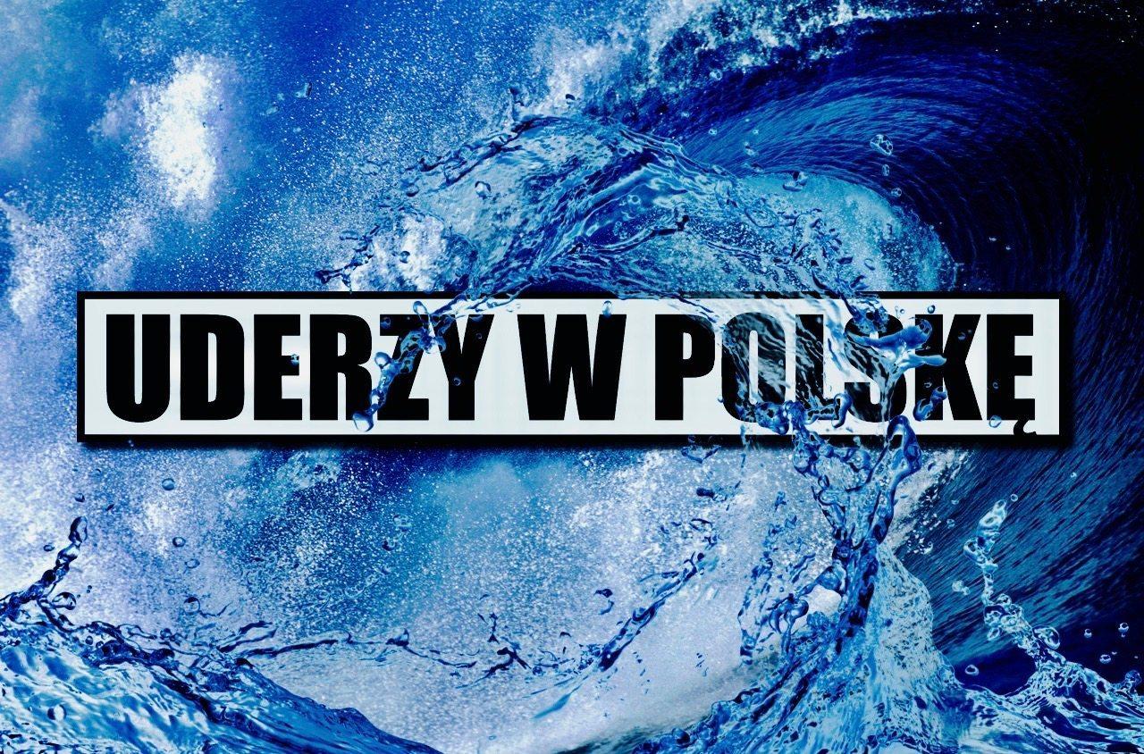 IMGW: Wodny kataklizm zmierza ku Polsce i uderzy w LĄD. Najpotężniejszy z możliwych