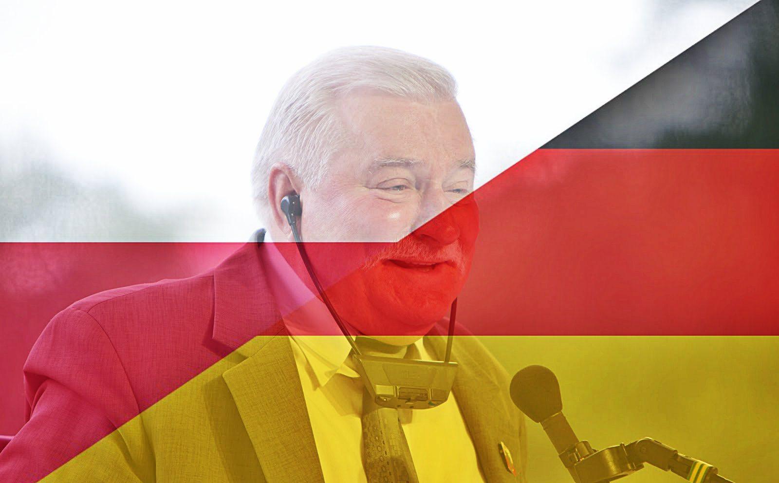 Wszyscy osłupieli! Wałęsa chce z Polski i Niemiec zrobić...