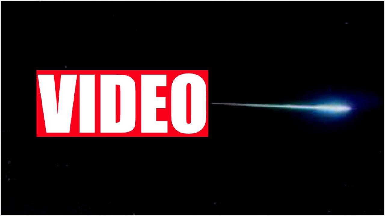 Niesamowite nagranie z Kosmosu! TO spada na Ziemię