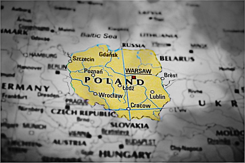 Rakotwórcza plama na mapie Polski. Wszelkie normy przekroczone