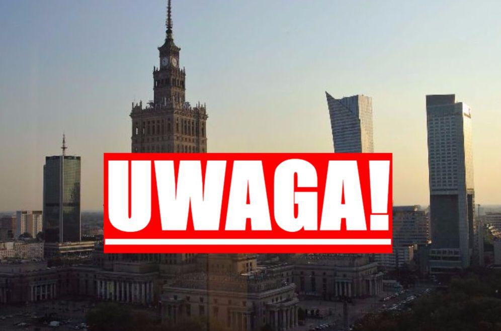 Warszawa SPARALIŻOWANA! Unikaj tych miejsc