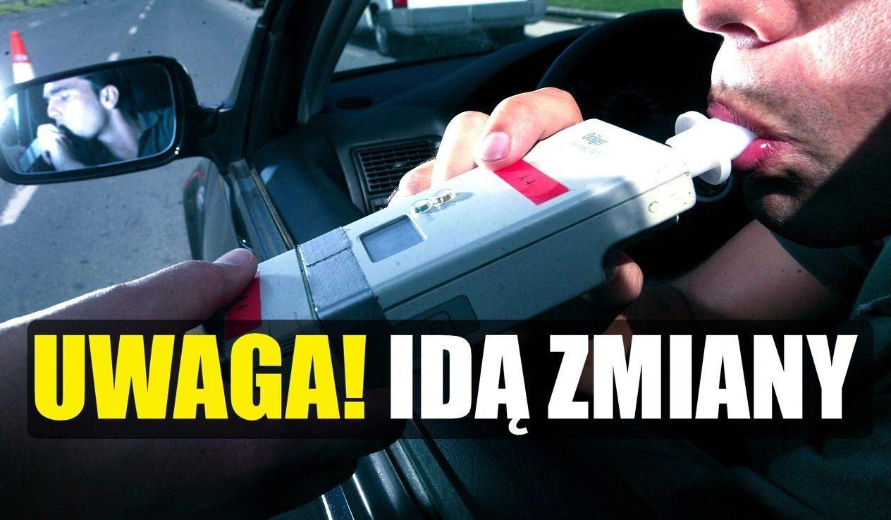 NOWE limity jazdy po alkoholu!  Ogromne zmiany w polskich przepisach