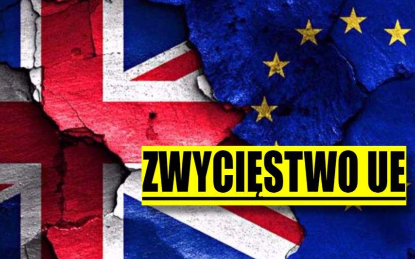 UE triumfuje! Brexitu NIE BĘDZIE