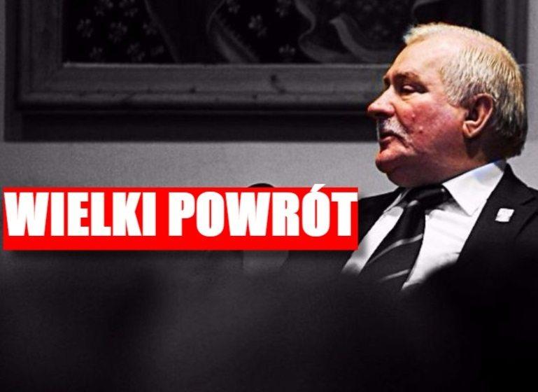 """Wałęsa WRACA do polityki! """"Zrobię z Kaczyńskiego..."""""""