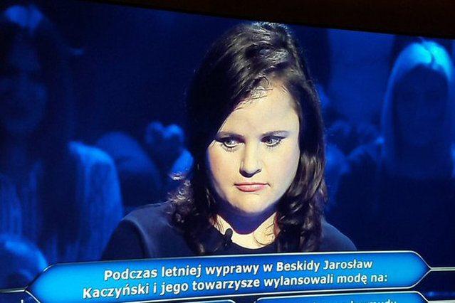 Milionerzy znów pytają o Kaczyńskiego. Odpowiedź wywołała salwę śmiechu