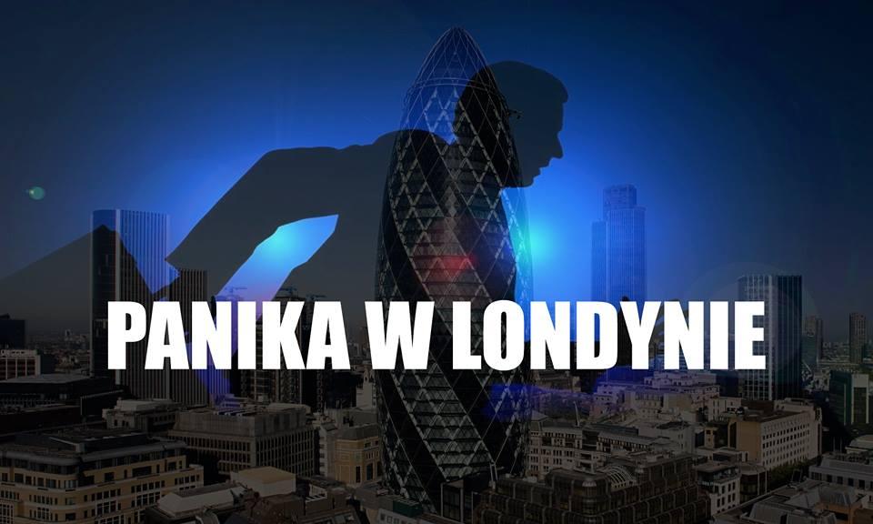 """Horror w Londynie! Ludzie konają przygnieceni, """"Taksówka Diabła"""" wbiła się w tłum, a potem..."""