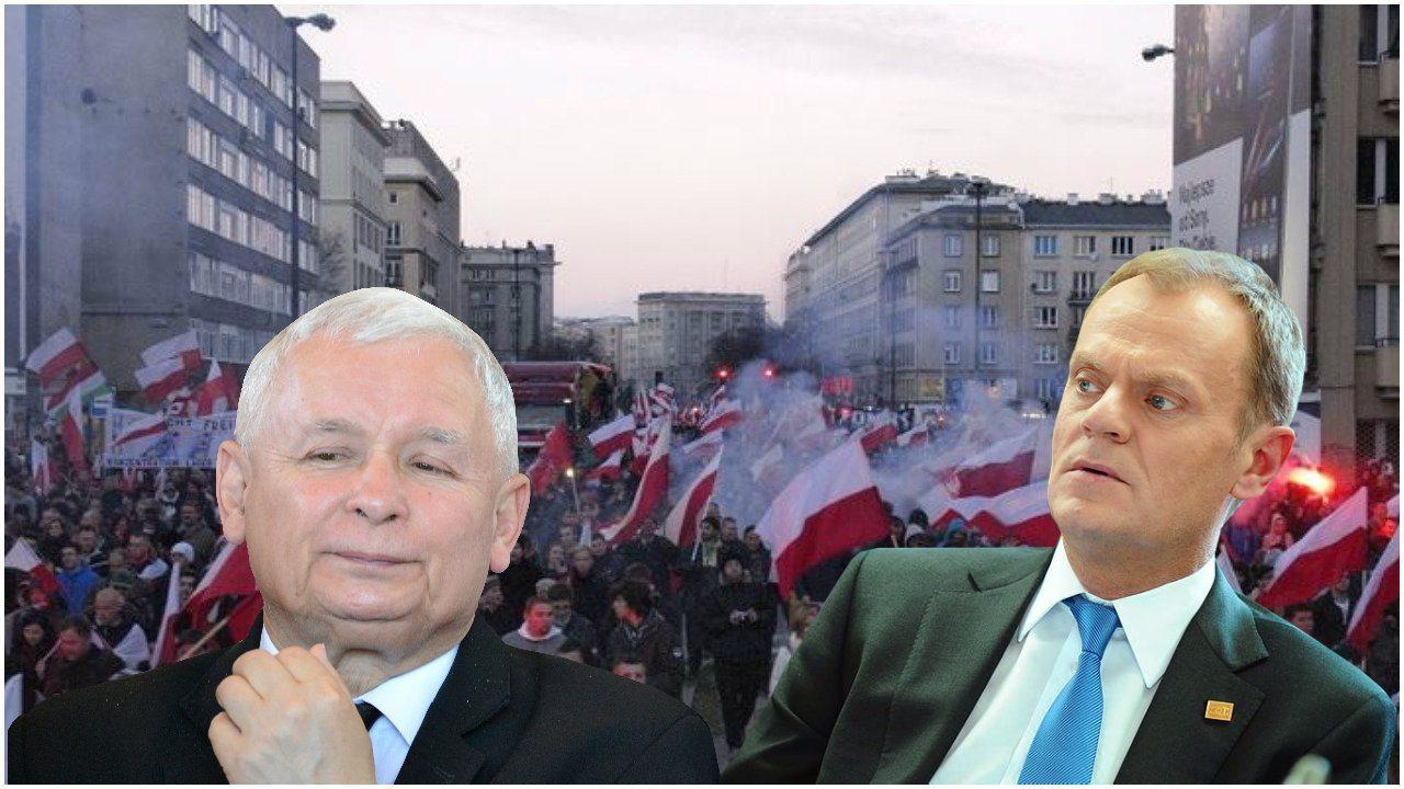 Ale SPRYCIARZ! Kaczyński wymyślił jak uniknąć Tuska 11 listopada