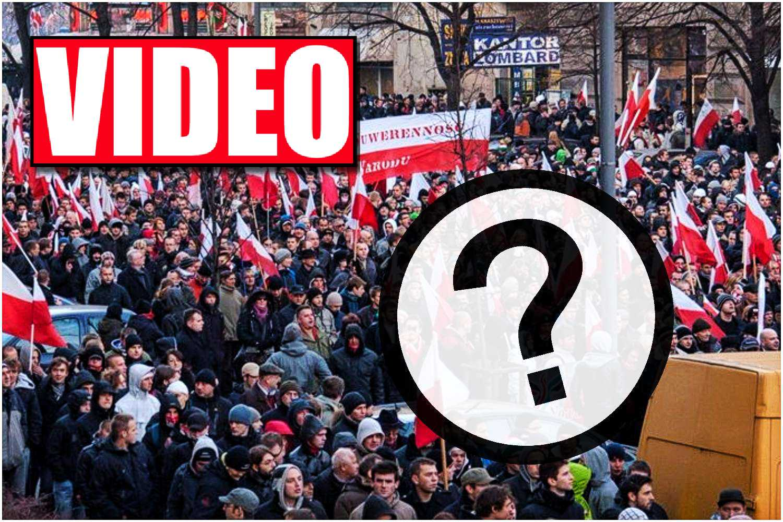 Mówi o nim dzisiaj cała Polska. Kim jest tajemnicza gwiazda Marszu Niepodległości?