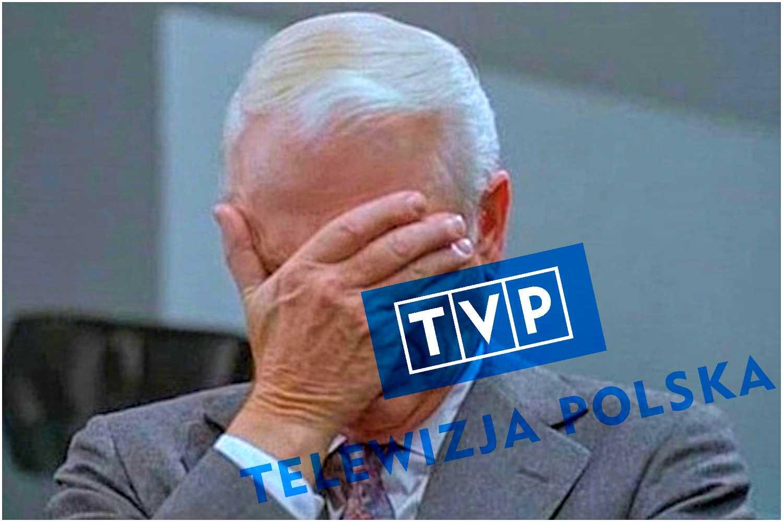 Kompromitacja! Policja w panice okrążyła wóz TVP by nikt nie zobaczył TEGO napisu