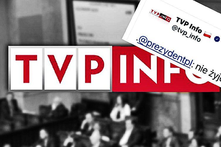 """Fatalna wpadka TVP Info. """"Choć raz powiedzieli prawdę"""""""