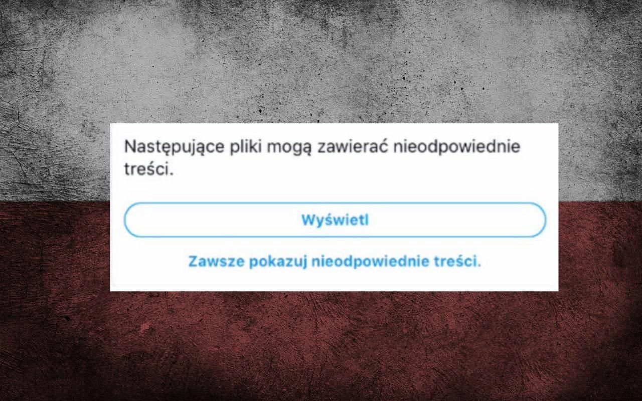 Szczyt absurdu! Twitter CENZURUJE polskie flagi za...