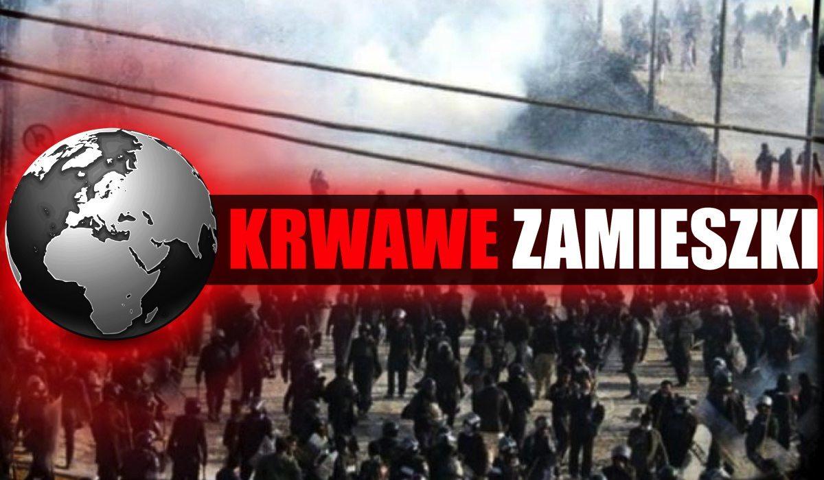 Brutalne zamieszki, blokują most! NIE ŻYJE dziecko. Policja użyła już gazu i armatek