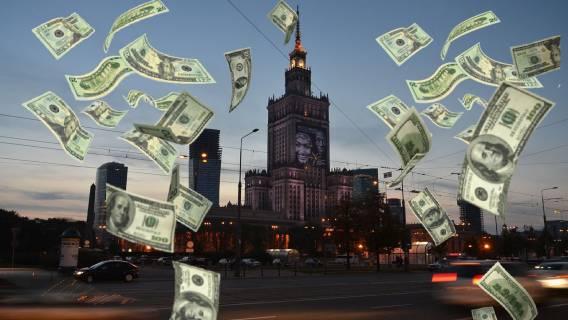 Warszawa pieniądze