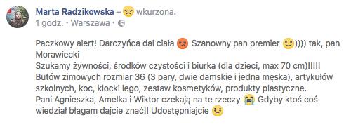 Morawiecki, Morawieckiego, Szlachetna paczka,