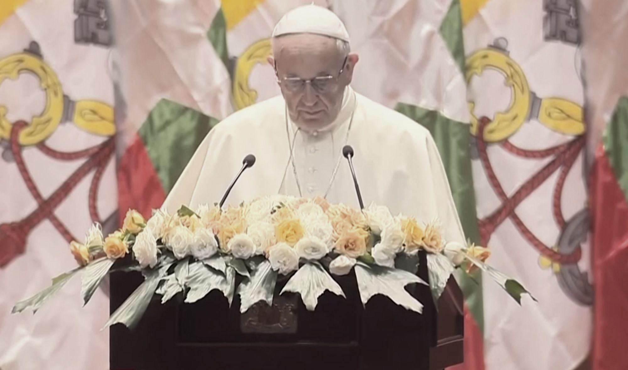 Tysiące wpadły w płacz po tych słowach Franciszka