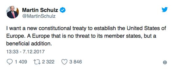 Schulz zapowiada prawdziwą rewolucję w UE