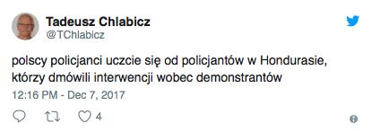 Policja stanęła po stronie opozycji