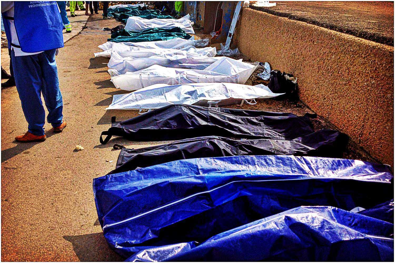 Takiej masakry nie widzieli od lat. 13 ofiar zmiażdżonych żywcem