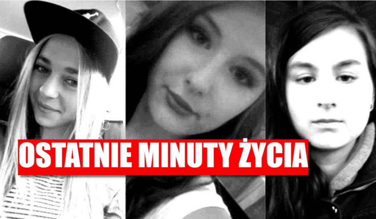 Ostatnie minuty życia 3 zaginionych nastolatek to był koszmar!