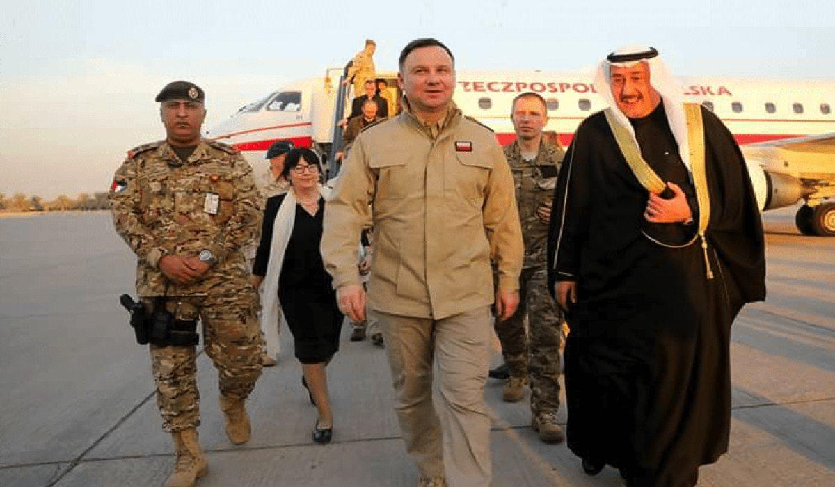 Andrzej Duda poleciał do Kuwejtu. To co tam zrobił, przejdzie do historii