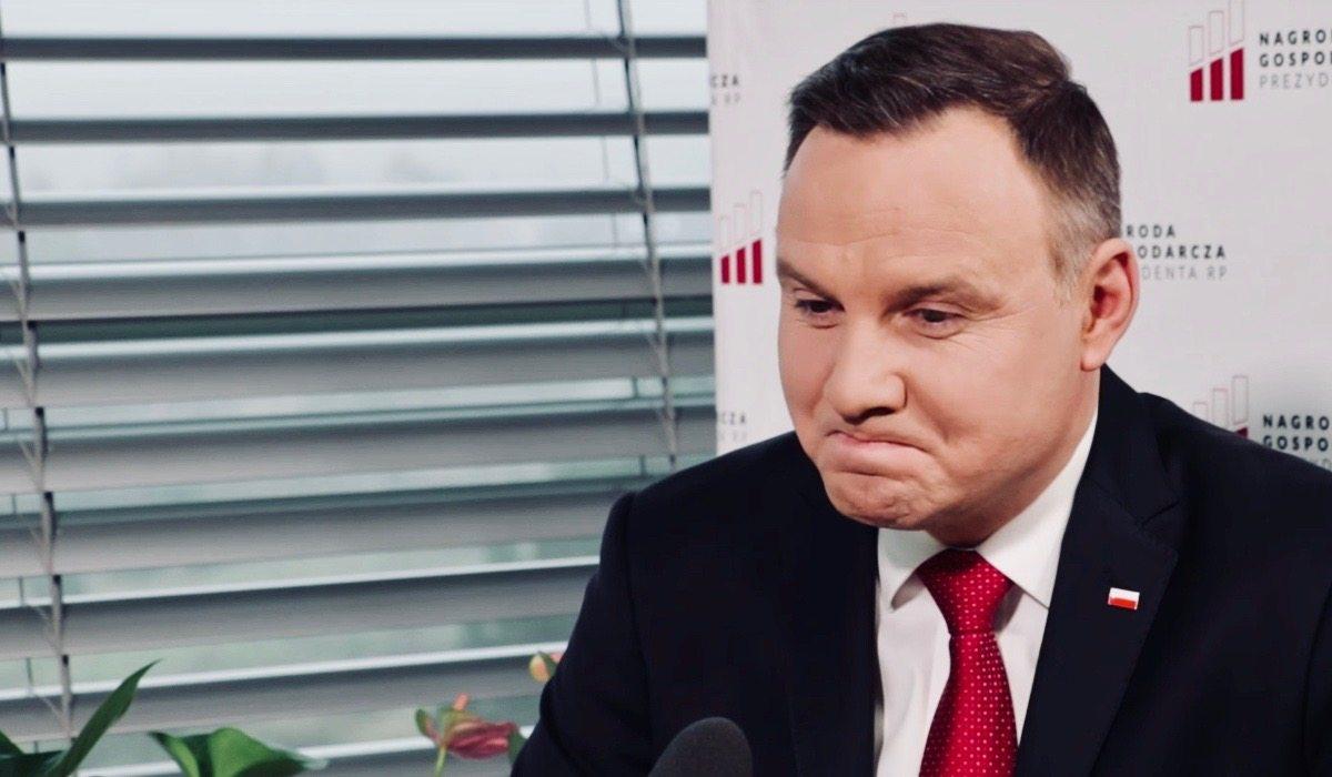 Duda poniżony jak nigdy! Szanowany profesor na oczach całej Polski...