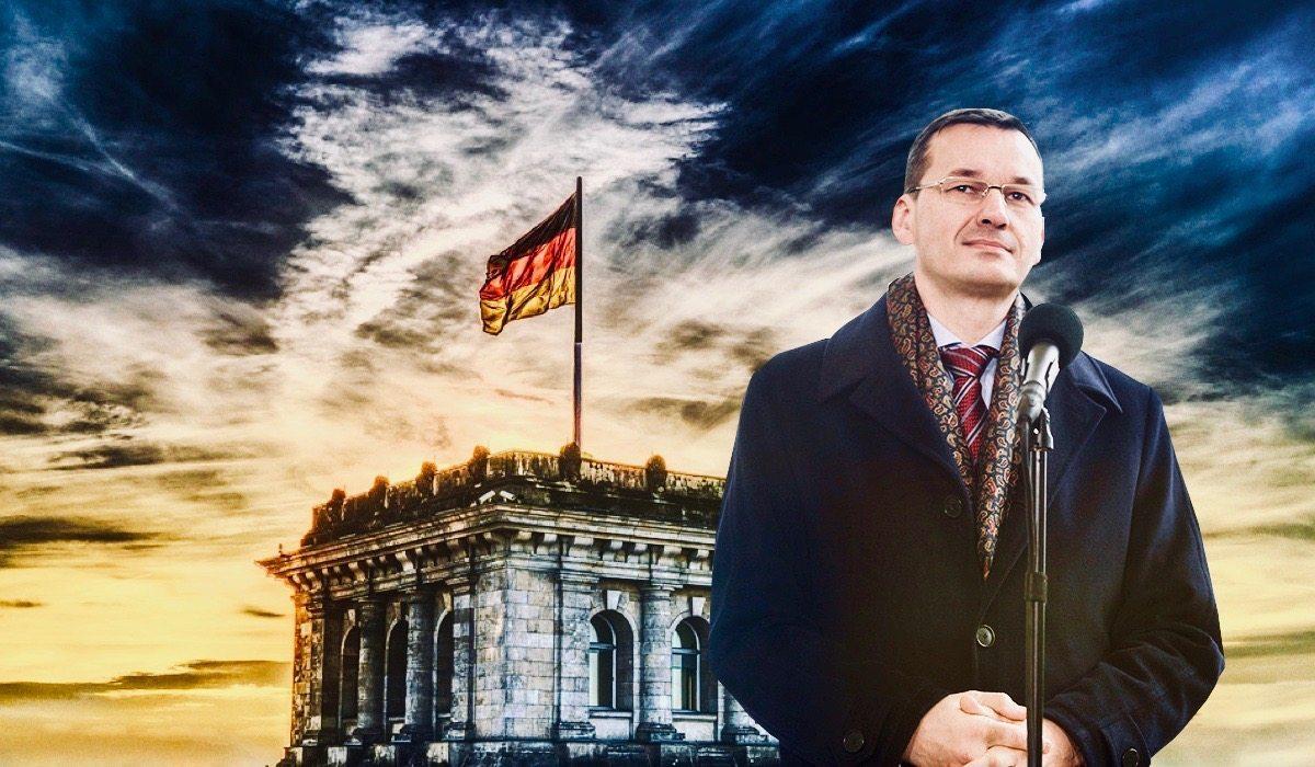 OGIEŃ! Zaczęło się, wojna Morawieckiego z Niemcami rozpoczęta