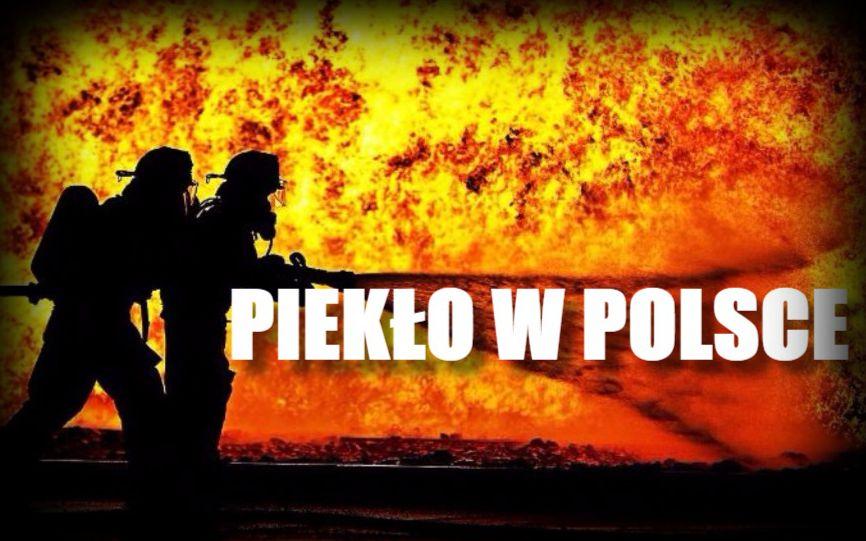 Piekło w sercu Polski. Krakowski jarmark bożonarodzeniowy stanął w ogniu