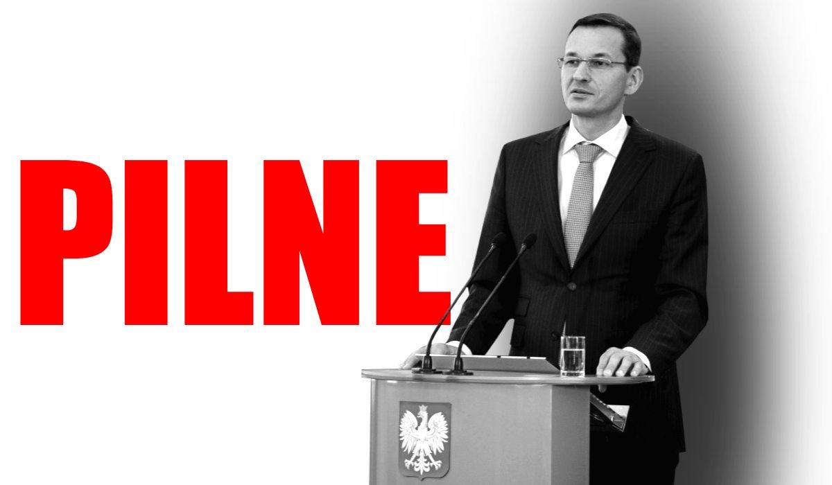 SZOK NA EXPOSE! Morawiecki spełni największe żądanie opozycji