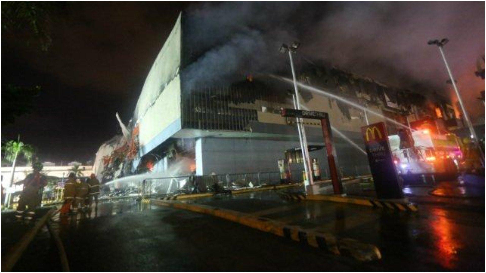 Tragiczny pożar w centrum handlowym. Nie żyje 37 osób