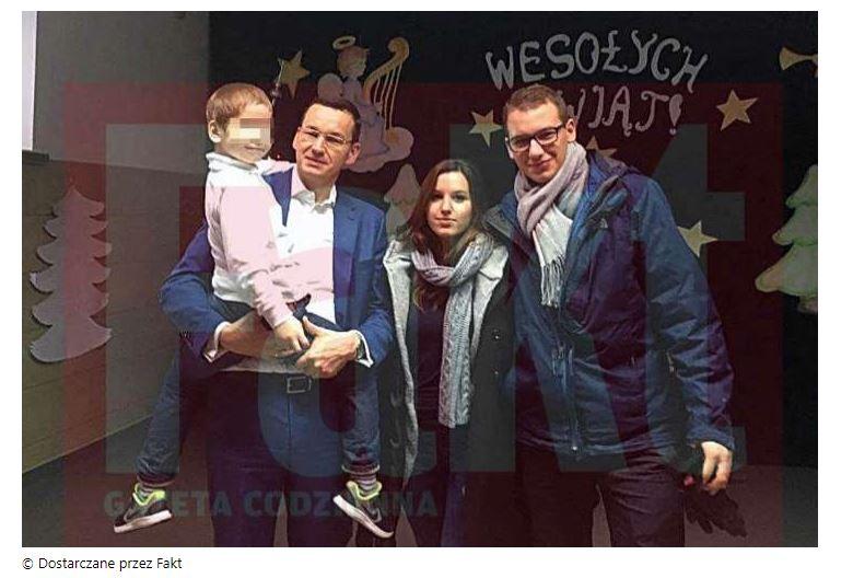 zdjęcie rodziny premiera mateusza morawieckiego