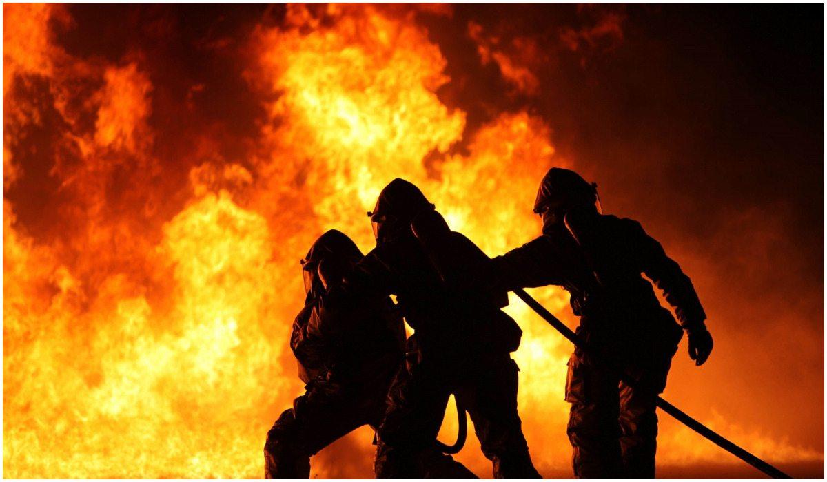 Ogromny pożar polskiej galerii handlowej. Ludzie uciekają w panice