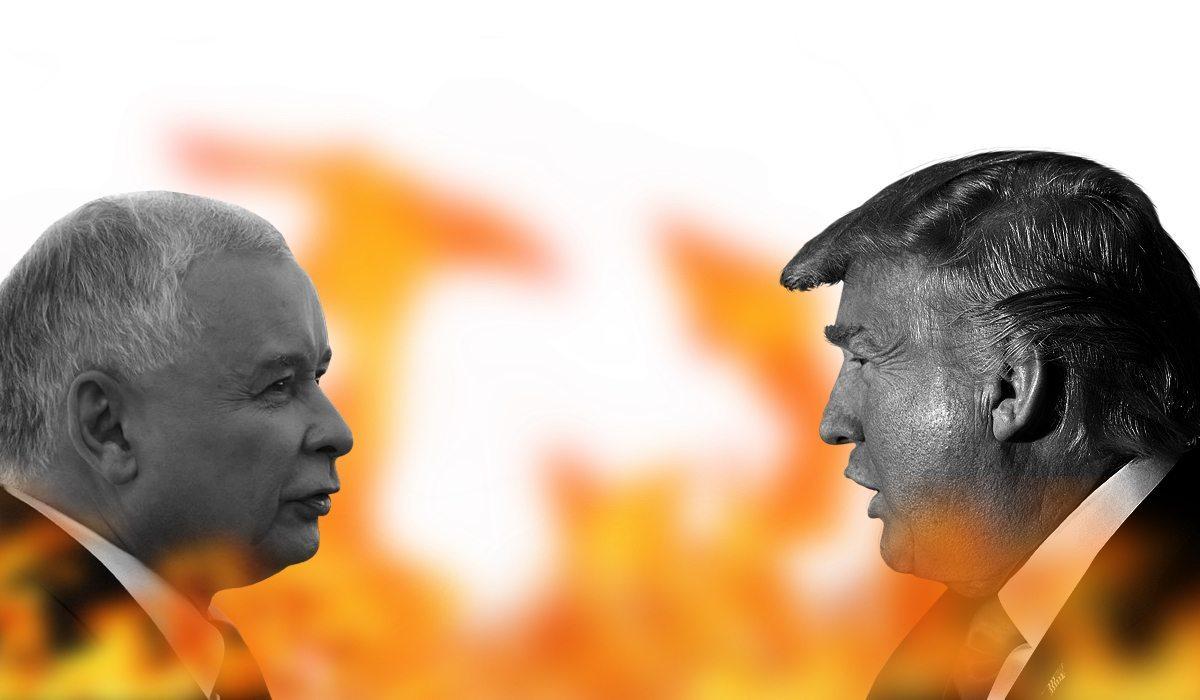 Trump odpala machinę! Zniszczy PiS bez litości