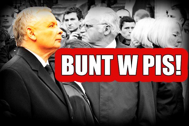 Kaczyński nie dowierza! Pół partii właśnie ogłosiło BUNT