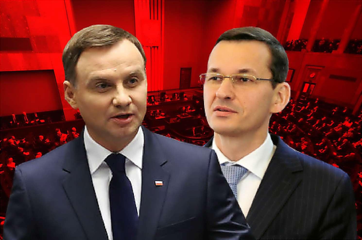 Międzynarodowe upokorzenie! Morawiecki i Duda poniżeni w Davos