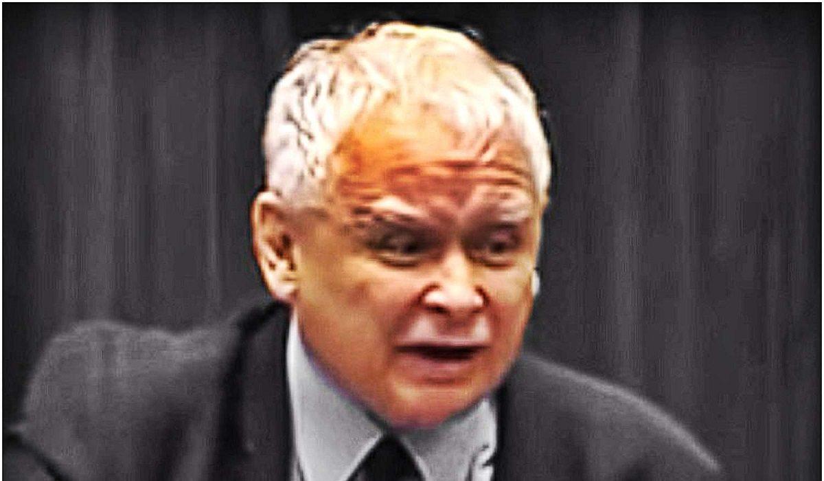 Kaczyński wściekły