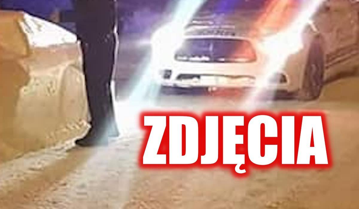 Co za absurd! Policjanci wystawili mandat samochodowi ulepionemu ze śniegu