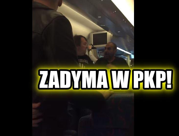 """Piekielna awantura w wagonie WARS PKP Intercity do Warszawy. """"K*rwa!"""", """"Sp*erdalaj!"""""""