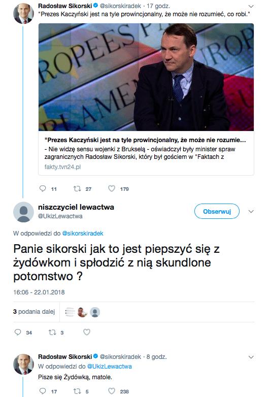 Wyborca uderza w Andrzeja Dudę