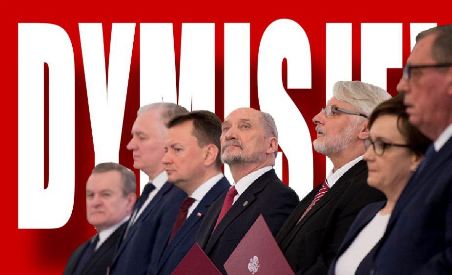 OFICJALNIE! Dymisja 3 najważniejszych ministrów, ogromne zaskoczenie