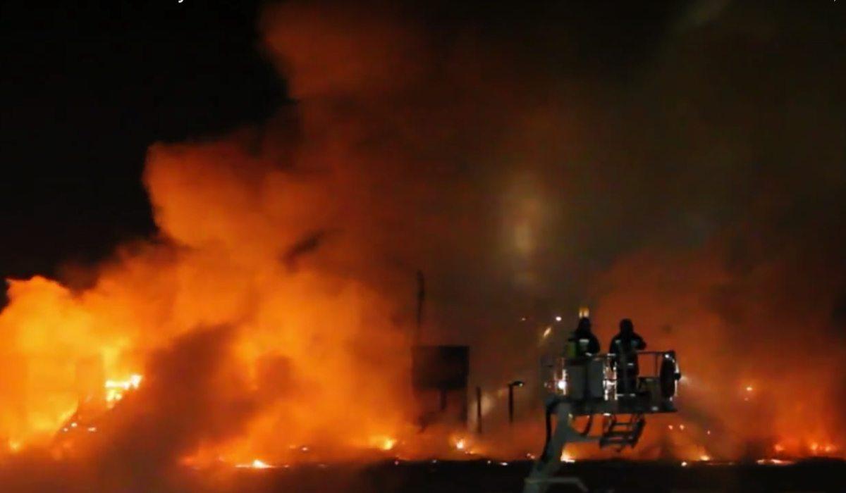Gigantyczny pożar ogarnął siedzibę TVP! Dziennikarze przerażeni, chaos