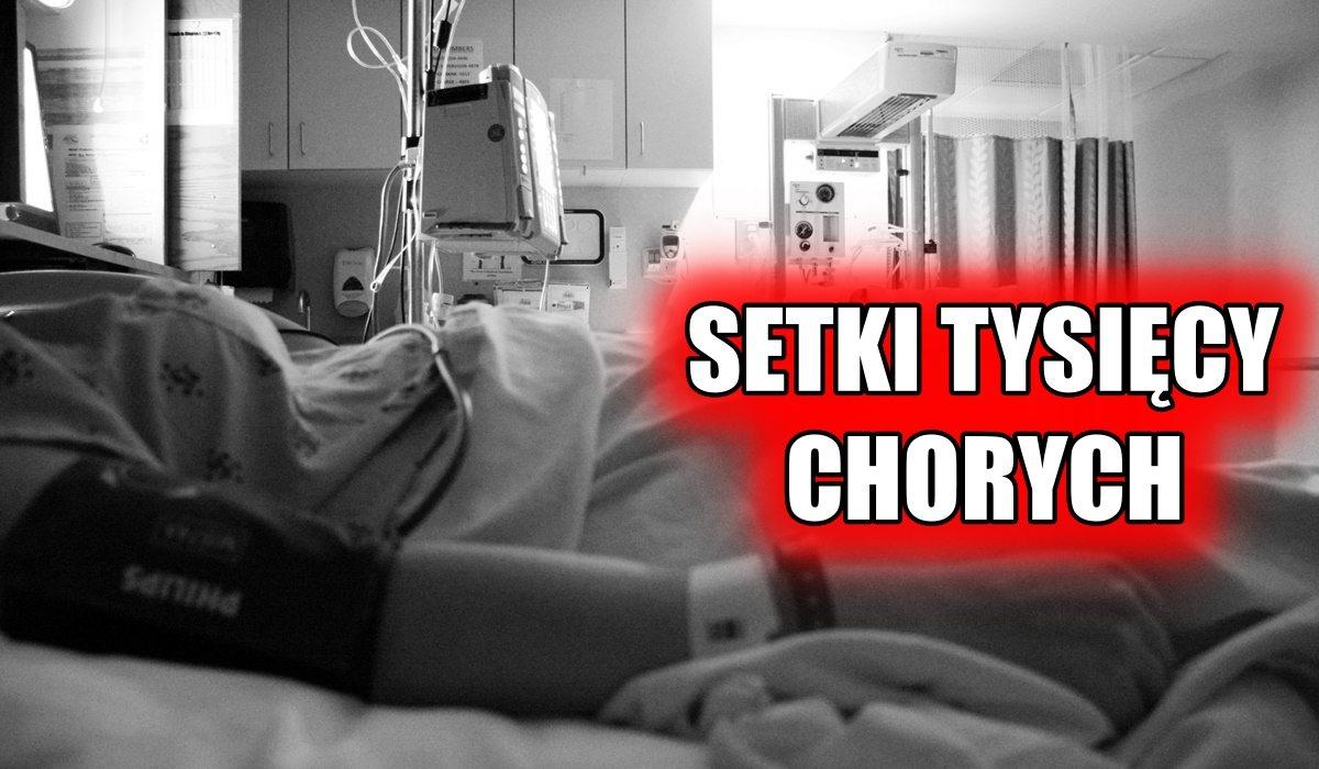 Setki tysięcy zachorowań w Polsce! Lekarze są bezradni