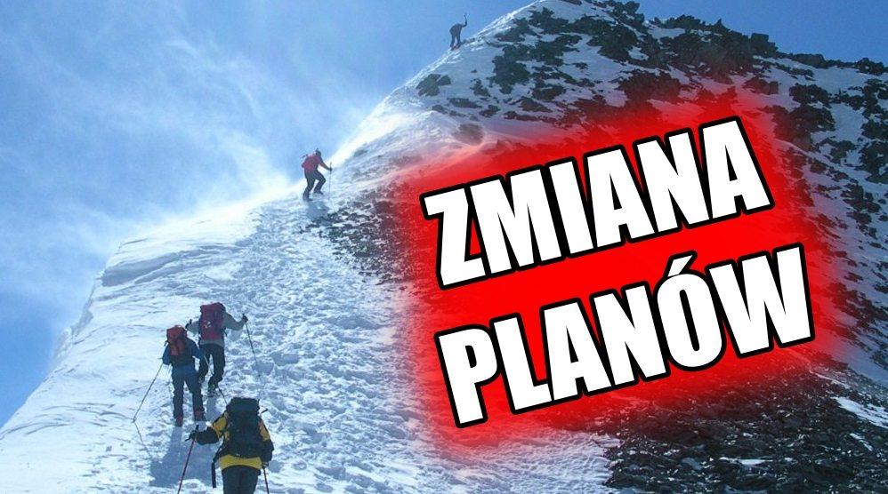Najnowsze informacje z K2. Całkowita zmiana planów
