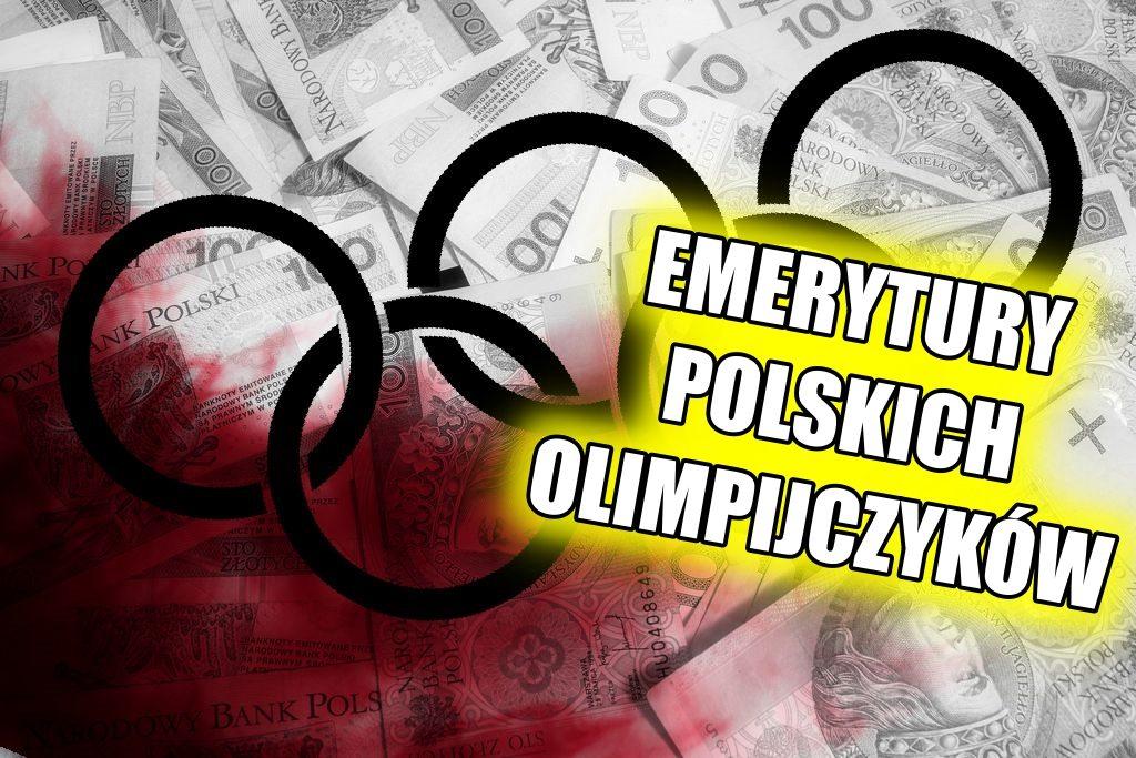 SZOK! Nie uwierzycie ile emerytury dostają nasi Olimpijczycy