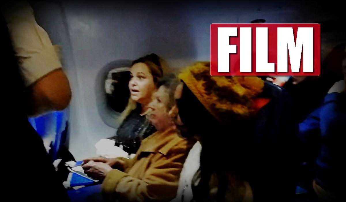 """""""Jestem żoną posła!"""". Wielka bijatyka w samolocie"""