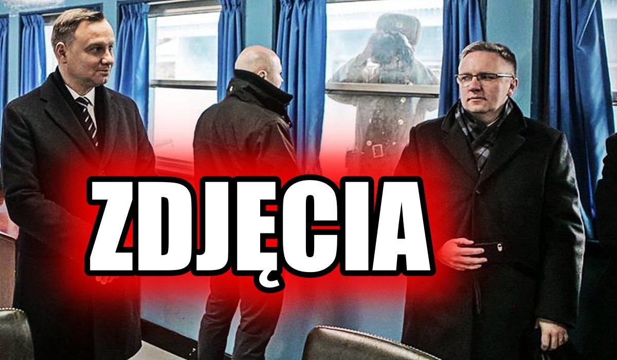 Andrzej Duda pojechał do Korei. Został memem